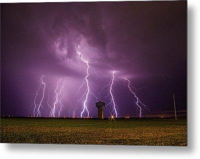 Epic Lightning Metal Print