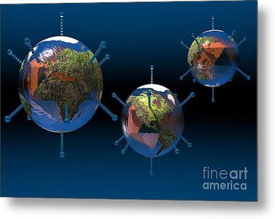 Epidemic Metal Print by Carol and Mike Werner