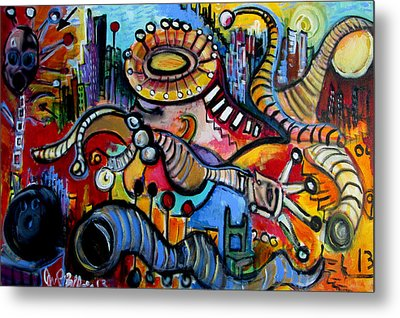 Episode Two Hundred Milligrams  Metal Print by Jon Baldwin  Art