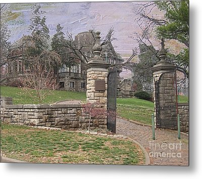 Epperson House House On The Hill Metal Print