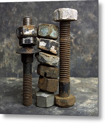 Equipment Metal Print