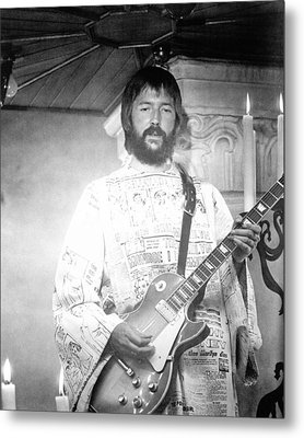 Eric Clapton In Tommy  Metal Print by Silver Screen