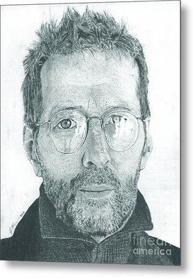 Eric Clapton Metal Print by Jeff Ridlen