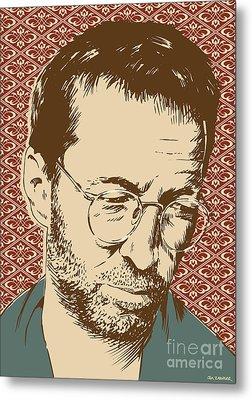 Eric Clapton Metal Print by Jim Zahniser
