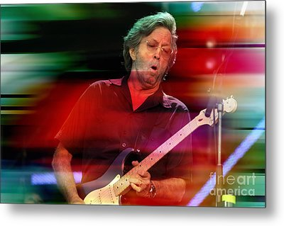 Eric Clapton Metal Print by Marvin Blaine