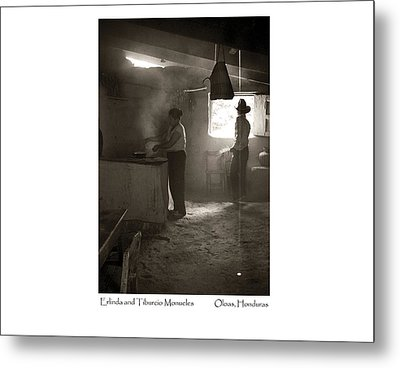 Metal Print featuring the photograph Erlinda And Tiburcio Monueles by Tina Manley