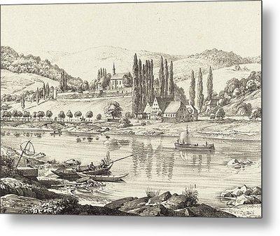 Ernst Fries German, 1801 - 1833, The Convent Of Neuberg Metal Print