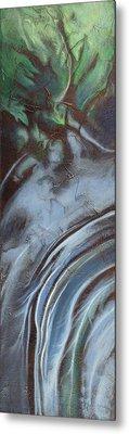 Erosion Metal Print by Carlynne Hershberger