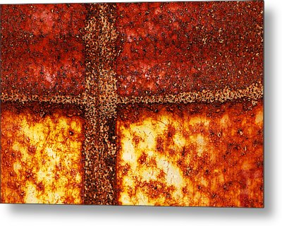 Erosion Metal Print by Wendy Wilton
