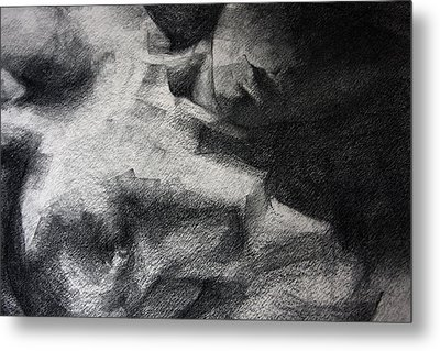 Erotic Sketchbook Page 1 Metal Print by Dimitar Hristov