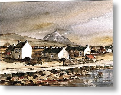 Errigal From Gola Island Donegal Metal Print