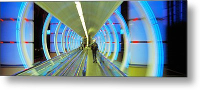 Escalator, Las Vegas Nevada, Usa Metal Print by Panoramic Images