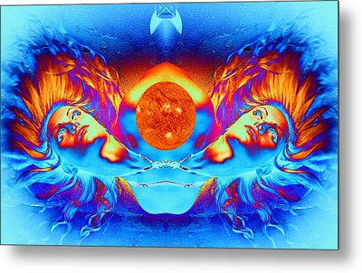 Escape From The Sun Metal Print by Matthew Lacey