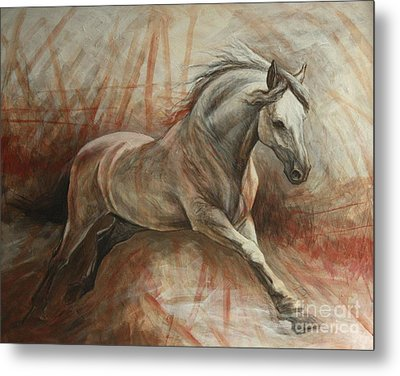Escape Metal Print by Silvana Gabudean Dobre
