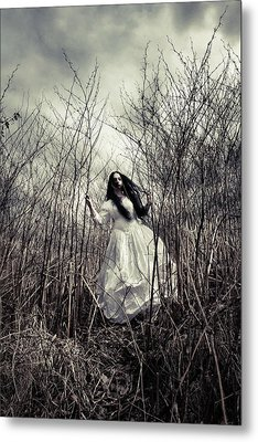 Escaping Bride Metal Print by Cambion Art