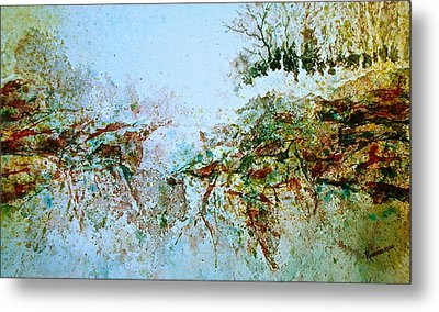 Escarpment Metal Print by Carolyn Rosenberger