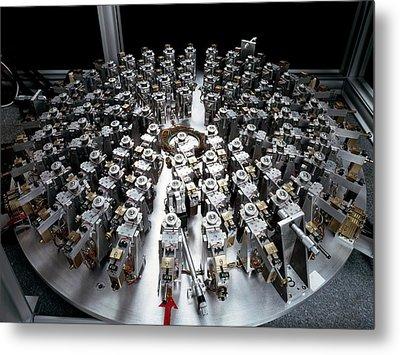 Eso Active Optics Experiment Equipment Metal Print