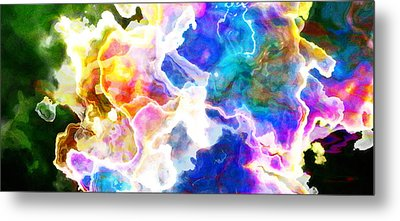 Essence - Abstract Art Metal Print by Jaison Cianelli