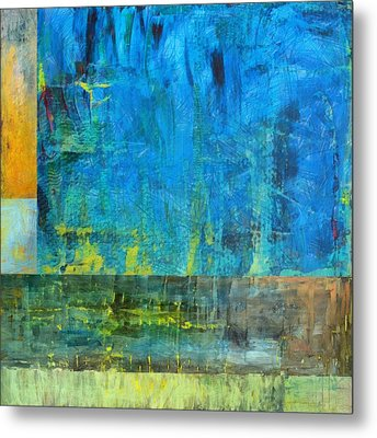 Essence Of Blue Metal Print by Michelle Calkins