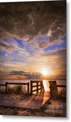 Essence Of Light Metal Print by Marvin Spates