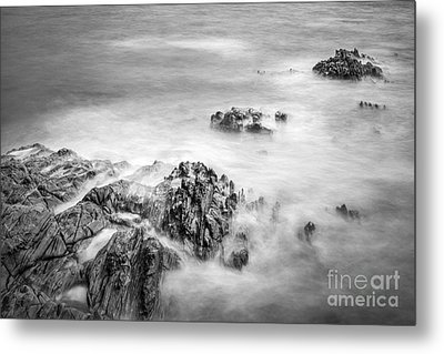 Metal Print featuring the photograph Estacas Beach Galicia Spain by Pablo Avanzini