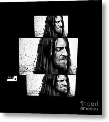 Estas Tonne's Face Metal Print by Fei A