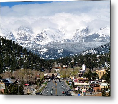 Estes Park In The Spring Metal Print by Tranquil Light  Photography
