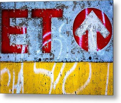 ET  Metal Print by Bob Orsillo