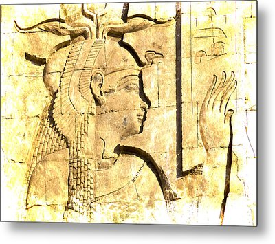Eternal Goddess Isis Metal Print by Brenda Kean
