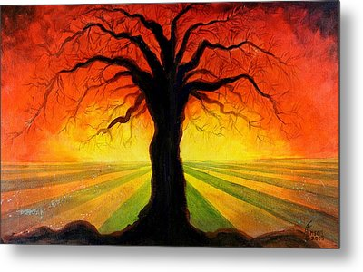 Metal Print featuring the mixed media Eternity by Kenny Henson