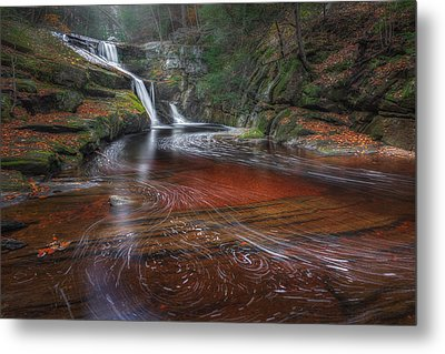 Metal Print featuring the photograph Ethereal Autumn by Bill Wakeley