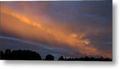 Ethereal Clouds Metal Print by Greg Reed