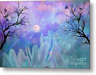 Ethereal Love Metal Print by Sherri's Of Palm Springs