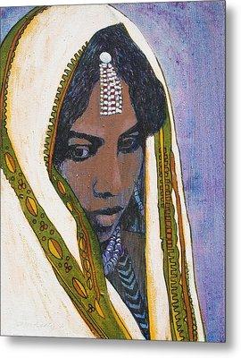 Ethiopian Woman Metal Print by J W Kelly