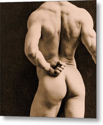 Eugen Sandow Metal Print by Napoleon Sarony