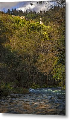 Metal Print featuring the photograph Eume River Galicia Spain by Pablo Avanzini