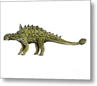 Euoplocephalus Dinosaur Metal Print by Nobumichi Tamura