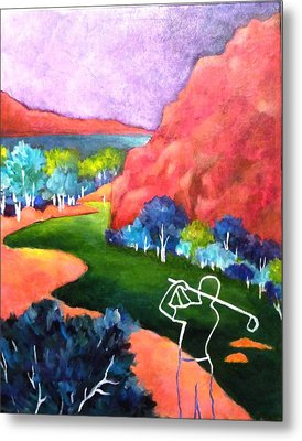 Euphoria - Golf Series Metal Print