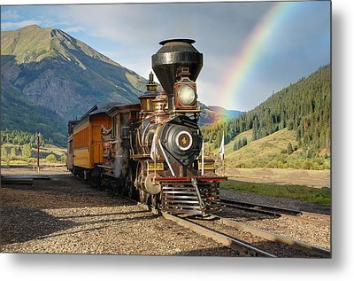 Eureka Rainbow Metal Print by Ken Smith