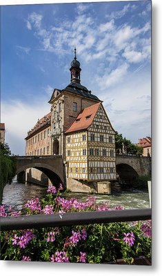 Europe, Germany, Bamberg, Altes Metal Print
