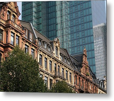 Europe Old And New Metal Print by David and Mandy
