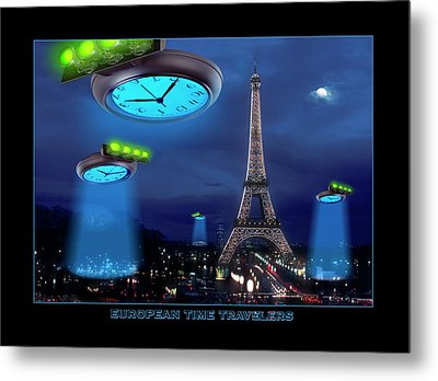 European Time Traveler Metal Print by Mike McGlothlen