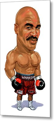Evander Holyfield Metal Print by Art