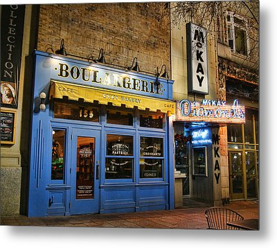 Metal Print featuring the photograph Eva's Bakery  by Ely Arsha