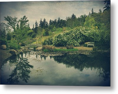 Even After You're Gone Metal Print by Laurie Search
