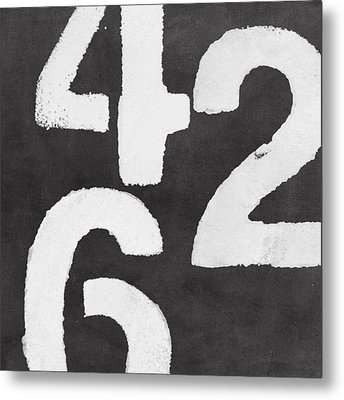 Even Numbers Metal Print