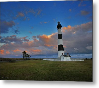 Evening At Bodie Island Lighthouse Metal Print by Matt Taylor
