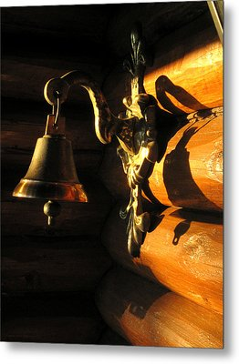 Metal Print featuring the photograph Evening Bell by Leena Pekkalainen