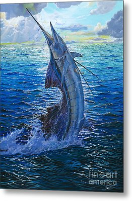 Evening Bite Metal Print by Carey Chen
