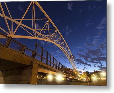 Evening In Denver Metal Print by Stellina Giannitsi